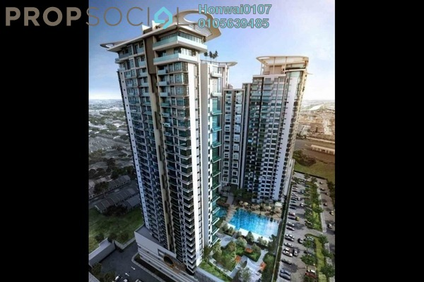 For Rent Condominium at You Vista @ You City, Batu 9 Cheras Freehold Semi Furnished 1R/1B 1.1k