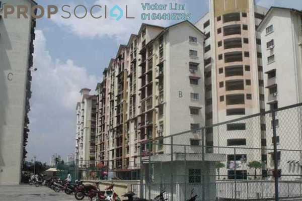 For Sale Apartment at Vista Lavender, Bandar Kinrara Freehold Semi Furnished 3R/2B 290k
