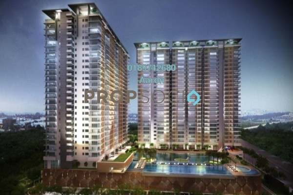 For Sale Condominium at South View, Bangsar South Freehold Semi Furnished 2R/2B 750k