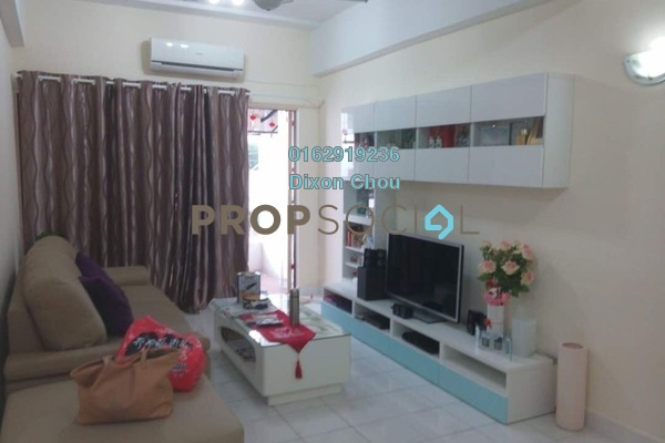 For Sale Condominium at Prima Saujana, Kepong Freehold Fully Furnished 3R/2B 320k