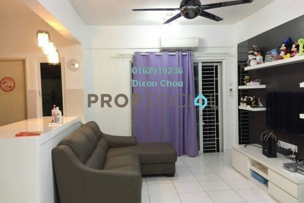 For Sale Condominium at First Residence, Kepong Freehold Fully Furnished 3R/2B 630k