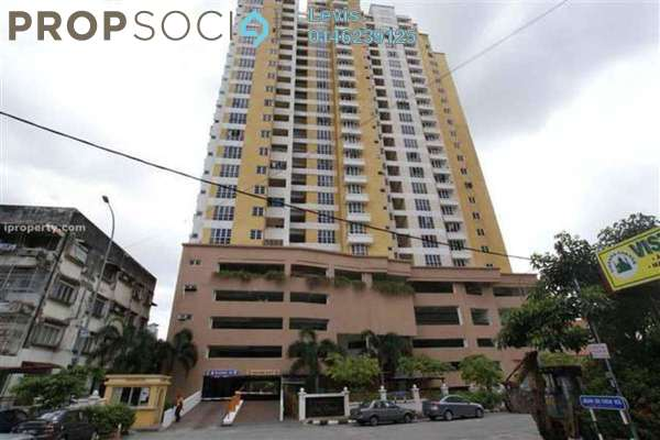 For Rent Condominium at Sri Emas, Pudu Freehold Fully Furnished 4R/2B 2.8k