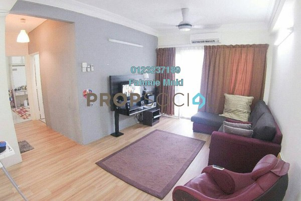 For Sale Condominium at Jade Tower, Ampang Leasehold Fully Furnished 3R/2B 350k