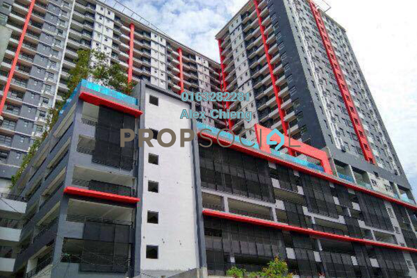 For Sale Serviced Residence at D'Aman Residences, Puchong Freehold Semi Furnished 3R/2B 402k