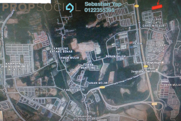 For Sale Land at Pajam, Negeri Sembilan Freehold Unfurnished 0R/0B 4.8m