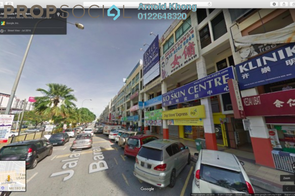 For Rent Shop at Taman Usahawan, Kepong Freehold Unfurnished 0R/0B 5k