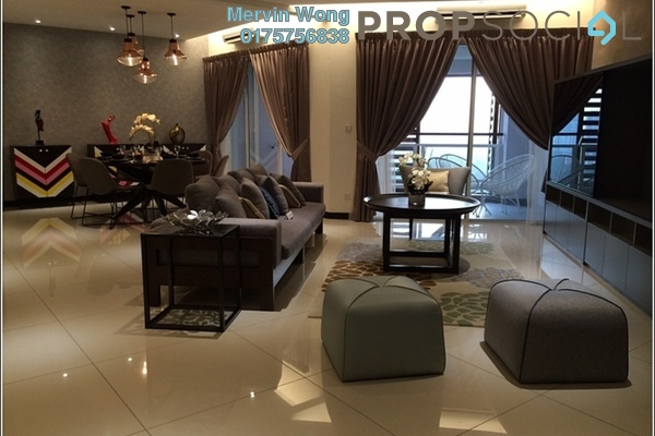 For Sale Condominium at 9 Bukit Utama, Bandar Utama Freehold Fully Furnished 4R/4B 1.77m