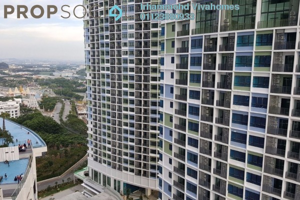 For Rent Condominium at i-City, Shah Alam Freehold Fully Furnished 2R/1B 1.6k