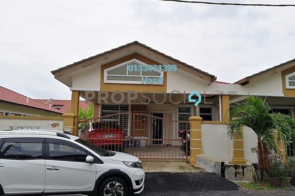 For Sale Semi-Detached at Taman Keris Satria, Melaka Freehold Unfurnished 3R/2B 350k