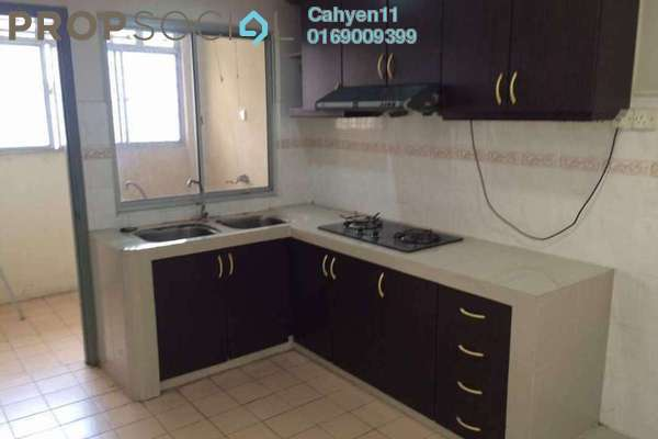 For Rent Apartment at Sri Bayu Apartment, Bandar Puchong Jaya Freehold Semi Furnished 3R/2B 1.2k