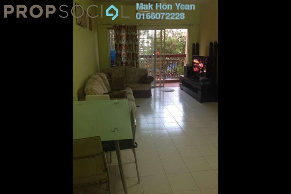For Sale Apartment at D'Cahaya Apartment, Bandar Puchong Jaya Freehold Semi Furnished 3R/2B 358k