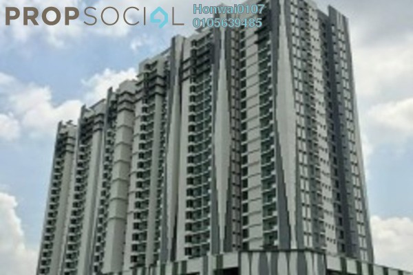 For Rent Condominium at Riverville Residences, Old Klang Road Freehold Fully Furnished 4R/2B 2.3k