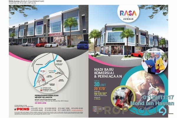 For Sale Shop at Taman Keruing, Selangor Leasehold Unfurnished 0R/0B 531k