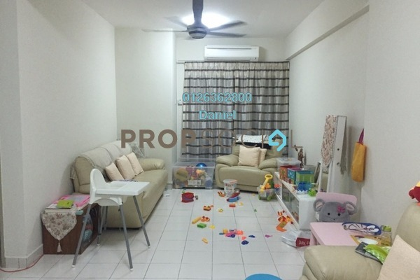 For Sale Condominium at Fortune Avenue, Kepong Leasehold Semi Furnished 3R/2B 500k