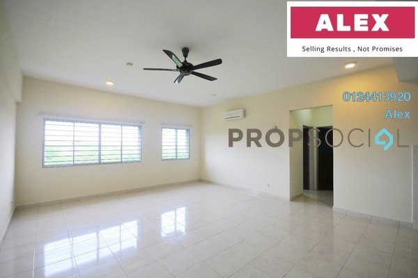For Rent Condominium at Lagoon Residences, Kota Kemuning Freehold Semi Furnished 2R/2B 1.3k