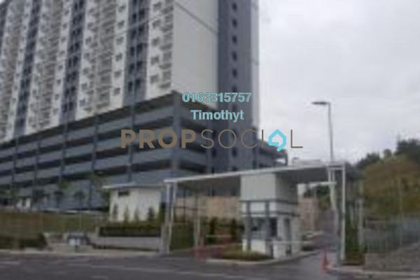 For Sale Condominium at Saujana Permai Apartment, Kajang Freehold Semi Furnished 3R/2B 345k