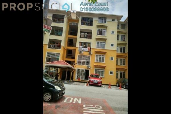 For Sale Apartment at E-mas Villa, Bandar Baru Salak Tinggi Freehold Semi Furnished 3R/2B 220k