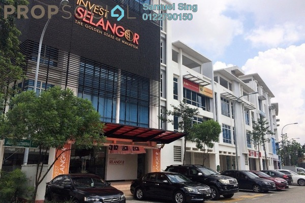 For Rent Shop at i-City, Shah Alam Freehold Unfurnished 0R/2B 4.2k