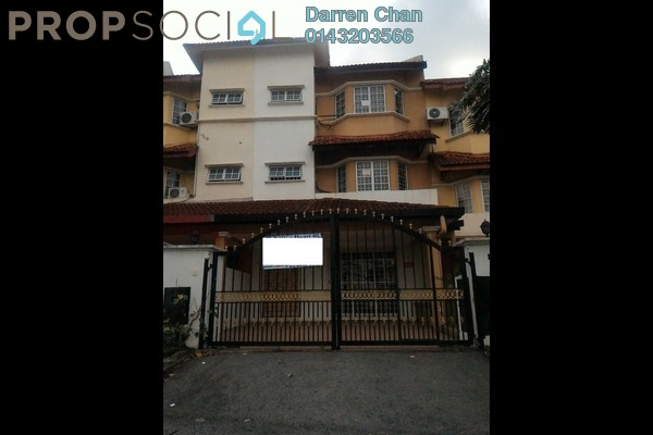 For Sale Terrace at Taman Minang Ria, Cheras South Freehold Semi Furnished 5R/4B 600k