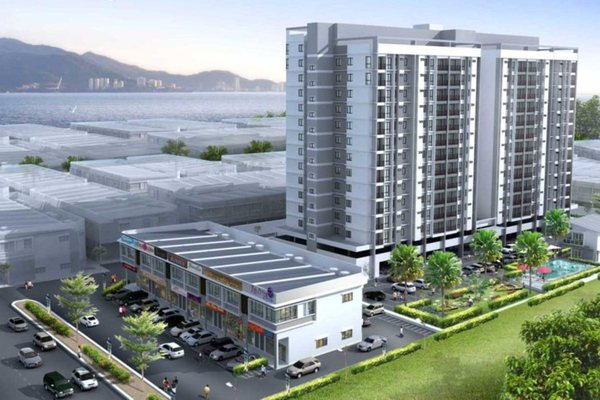 For Sale Condominium at Capri Park, Butterworth Freehold Unfurnished 3R/2B 478k
