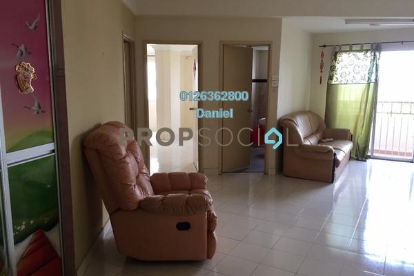For Rent Condominium at Vista Mutiara, Kepong Freehold Semi Furnished 2R/2B 1.2k