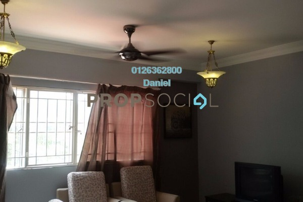 For Rent Condominium at Prima Tiara 1, Segambut Freehold Fully Furnished 3R/2B 1.5k