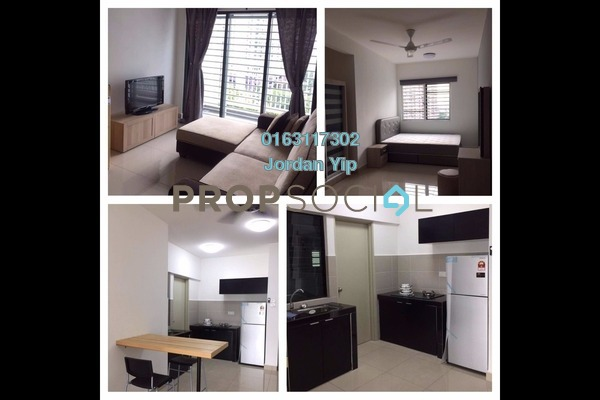 For Rent Condominium at Alam Sanjung, Shah Alam Freehold Fully Furnished 3R/2B 1.7k