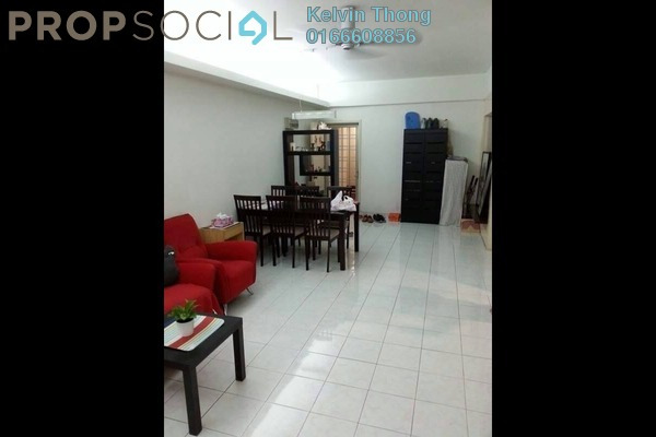 For Sale Condominium at Pelangi Damansara, Bandar Utama Freehold Semi Furnished 3R/2B 420k