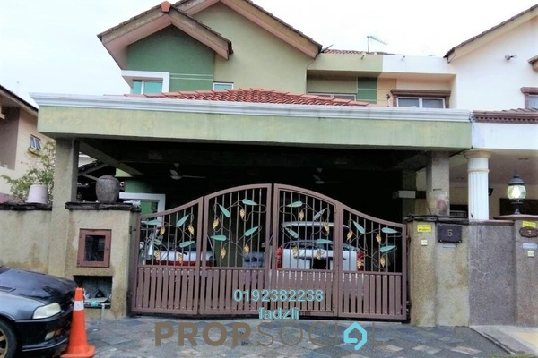 For Sale Semi-Detached at Taman Aman Perdana, Meru Freehold Semi Furnished 6R/3B 840k