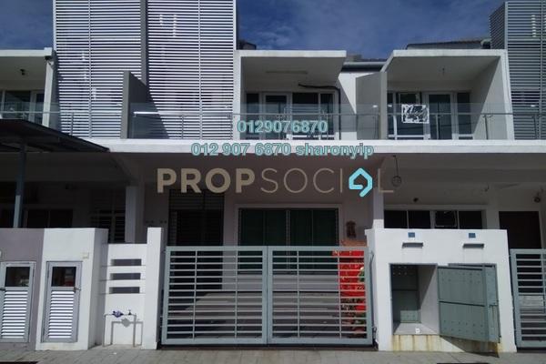 For Sale Terrace at Taman Cheras Idaman, Bandar Sungai Long Freehold Semi Furnished 4R/3B 788k