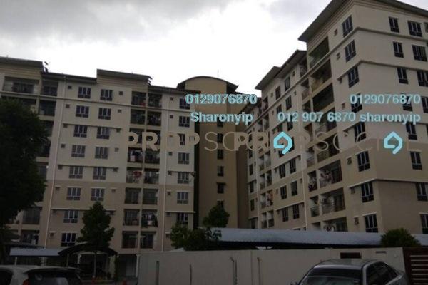For Rent Apartment at Vista Mahkota Apartment, Bandar Mahkota Cheras Freehold Semi Furnished 3R/2B 950translationmissing:en.pricing.unit