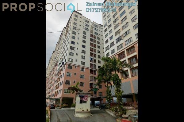 For Rent Condominium at Glen View Villa, Cheras Freehold Unfurnished 3R/2B 1k