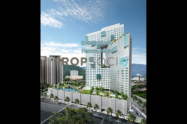 For Sale Condominium at Pearl Regency, Gelugor Freehold Fully Furnished 3R/2B 1.1m