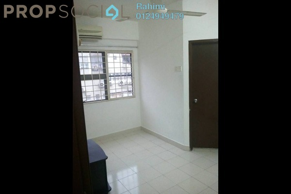 For Rent Apartment at Fortune Court, Kepong Freehold Unfurnished 4R/2B 1.25k