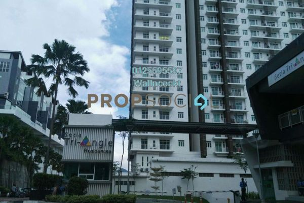 For Sale Condominium at Setia Tri-Angle, Sungai Ara Freehold Unfurnished 3R/2B 630k