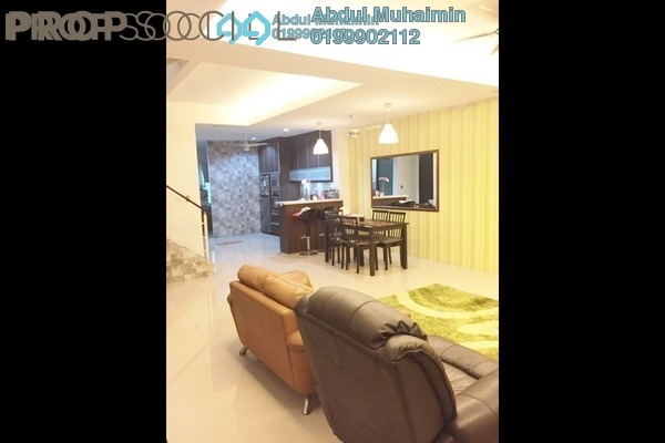 For Sale Terrace at Ken Rimba, Shah Alam Freehold Semi Furnished 4R/3B 690k