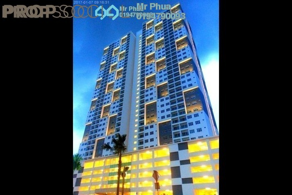 For Sale Condominium at Palma Laguna, Seberang Jaya Freehold Semi Furnished 4R/2B 300k