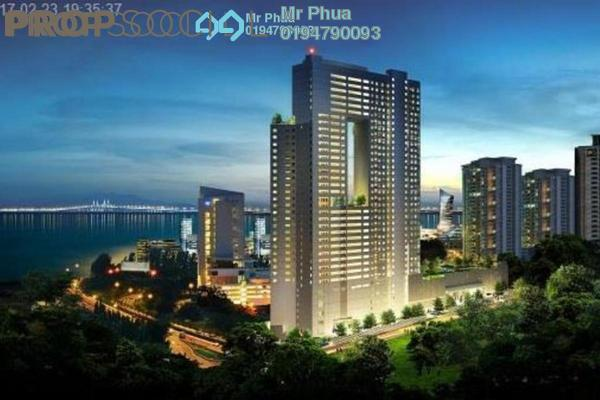 For Sale Condominium at Pearl Regency, Gelugor Freehold Semi Furnished 3R/2B 1.19m