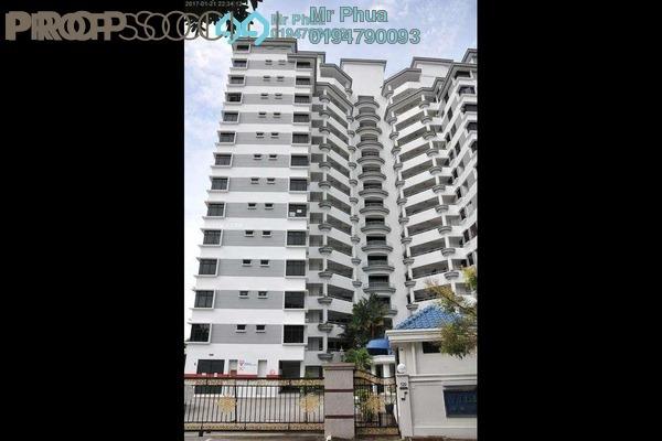 For Sale Condominium at Villa Ria, Tanjung Bungah Freehold Semi Furnished 3R/2B 1.2m