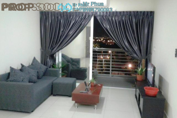 For Rent Condominium at Ocean View Residences, Butterworth Freehold Fully Furnished 3R/2B 1.7k