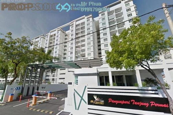 For Rent Condominium at Centro View, Butterworth Freehold Semi Furnished 3R/2B 1k