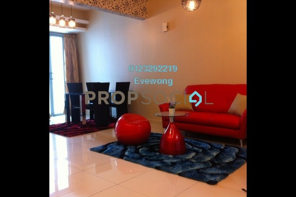 For Rent Serviced Residence at Suasana Bukit Ceylon, Bukit Ceylon Freehold Fully Furnished 1R/1B 2.5k