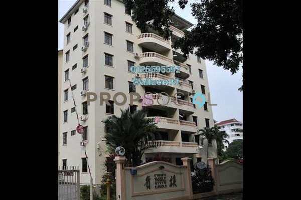 For Sale Condominium at Noble Villa, Georgetown Freehold Semi Furnished 3R/2B 880k
