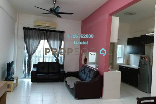 For Sale Condominium at First Residence, Kepong Freehold Semi Furnished 3R/2B 525k