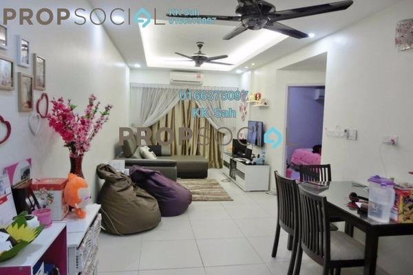 For Rent Condominium at Bandar Bukit Tinggi 2, Klang Freehold Fully Furnished 3R/2B 1.5k