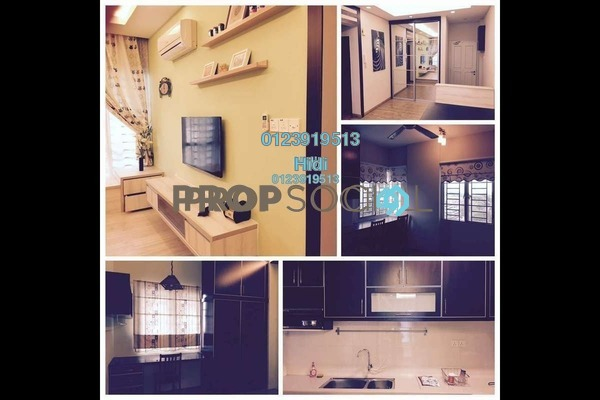 For Rent Serviced Residence at e-Tiara, Subang Jaya Freehold Fully Furnished 1R/2B 2k