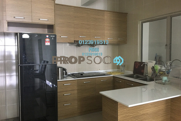 For Sale Condominium at Zen Residence, Puchong Leasehold Fully Furnished 3R/2B 570k