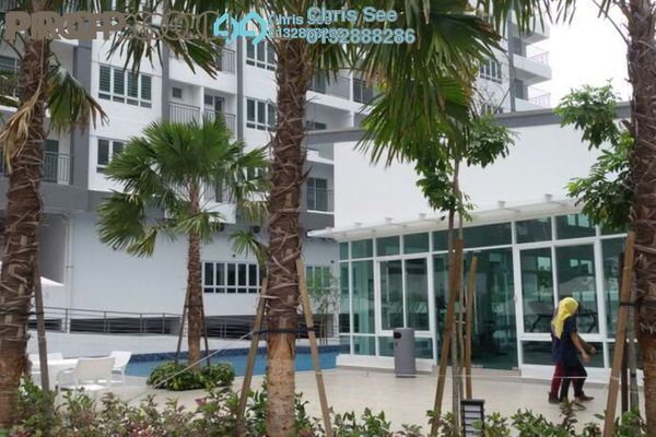 For Sale Condominium at Casa Tropika, Puchong Freehold Semi Furnished 3R/2B 428k