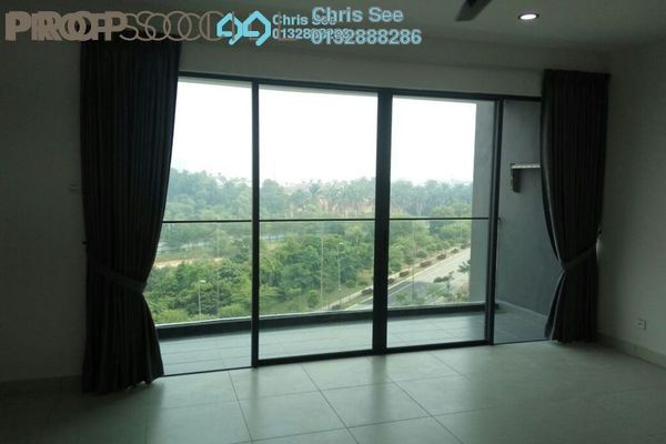 For Sale Condominium at Cristal Residence, Cyberjaya Freehold Semi Furnished 3R/2B 618k