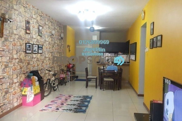 For Sale Condominium at Casa Idaman, Jalan Ipoh Leasehold Semi Furnished 3R/2B 430k